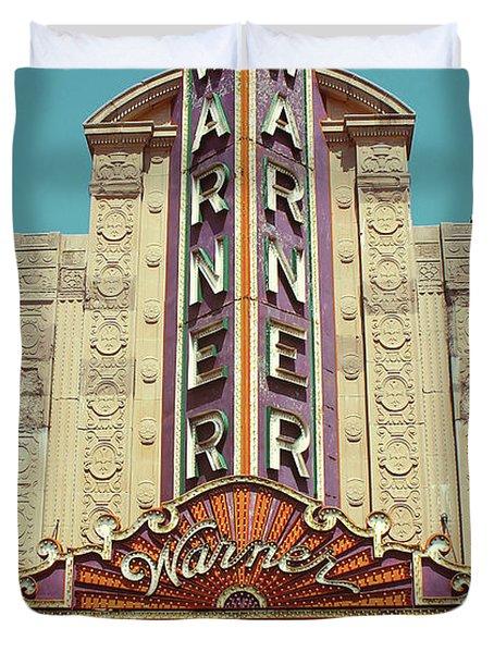 Warner Theatre, Erie, Pa Duvet Cover