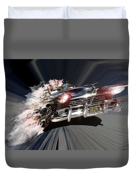 Warp Speed Duvet Cover