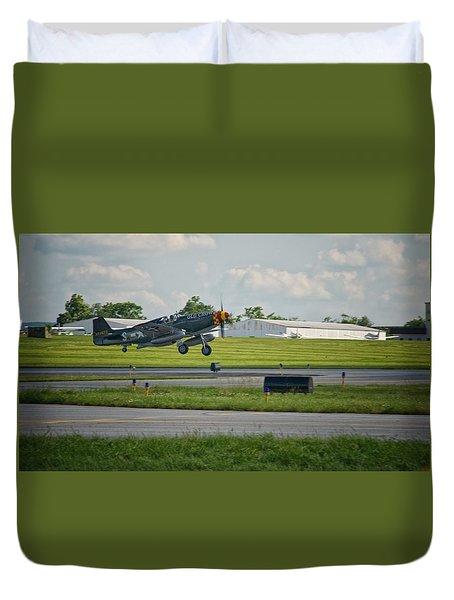 Warplane Duvet Cover