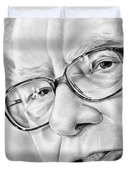 Warren Buffett Duvet Cover