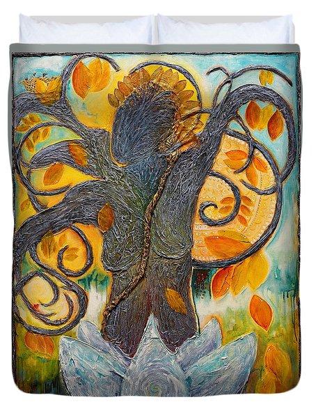 Warrior Bodhisattva Duvet Cover