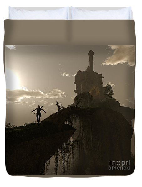 Warrior Fae Duvet Cover