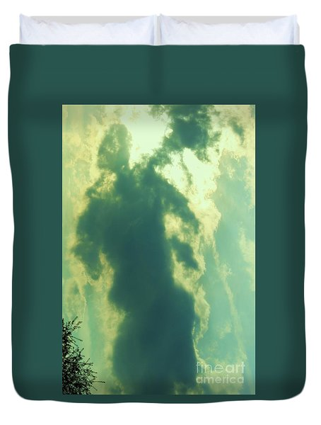 Warrior Hunter Duvet Cover