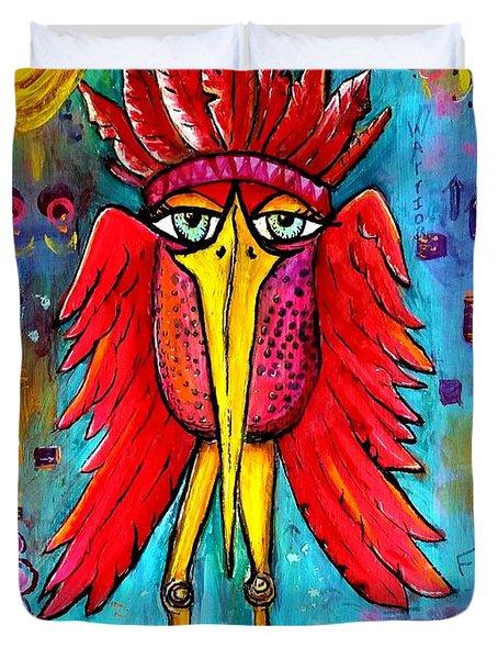 Warrior Spirit Duvet Cover