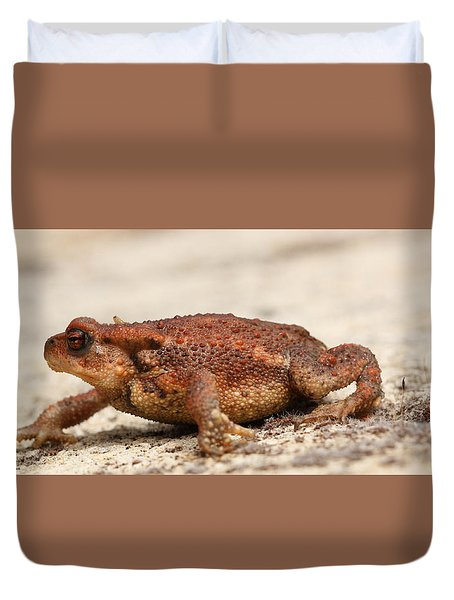 Duvet Cover featuring the photograph Warts 'n' All by Richard Patmore