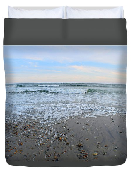 Wash Away The Day Duvet Cover