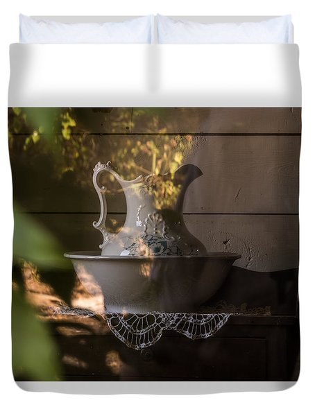 Wash Basin Duvet Cover