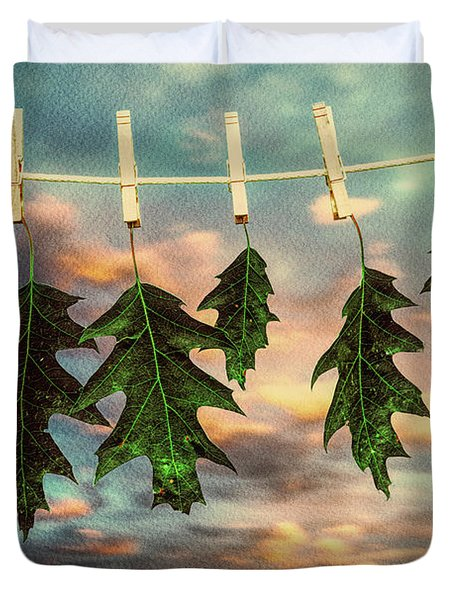 Wash Day Duvet Cover by Bob Orsillo