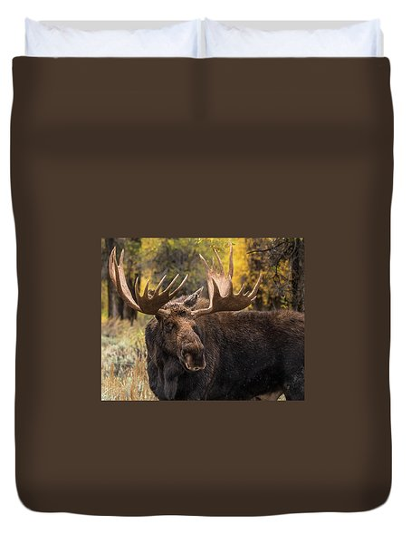 Washakie In The Autumn Beauty Duvet Cover