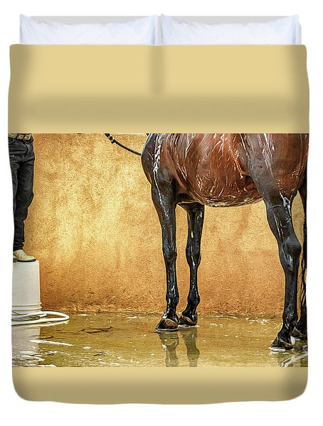Washing A Horse Duvet Cover