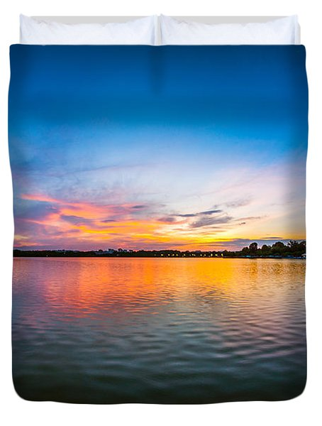 Washington D.c. Twilight Duvet Cover