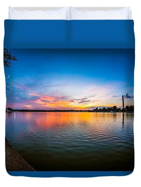 Washington D.c. Twilight Duvet Cover