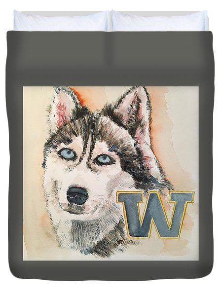 Washington Huskies Duvet Cover