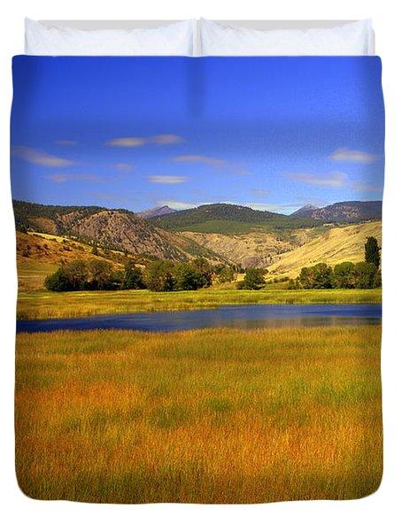 Washington Landscape Duvet Cover by Marty Koch