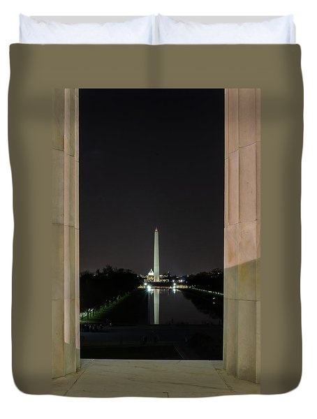 Washington Monument 2 Duvet Cover
