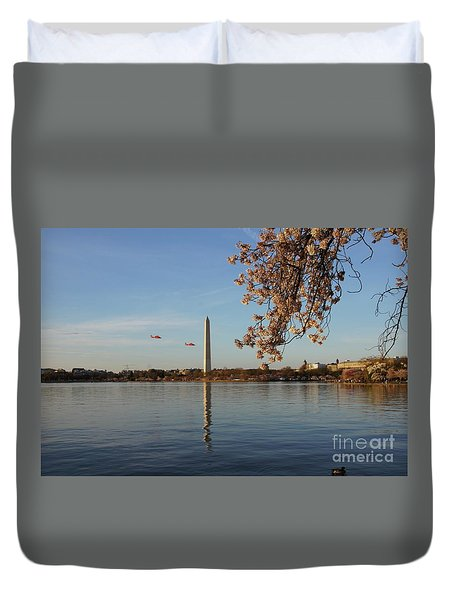 Washington Monument Duvet Cover