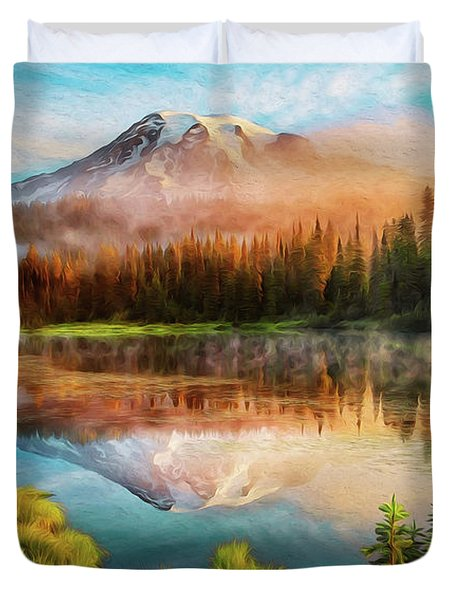 Washington, Mt Rainier National Park - 04 Duvet Cover