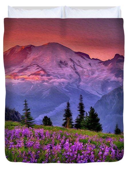 Washington, Mt Rainier National Park - 05 Duvet Cover