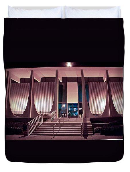 Washington Mutual Bank Building  Duvet Cover by Matthew Bamberg