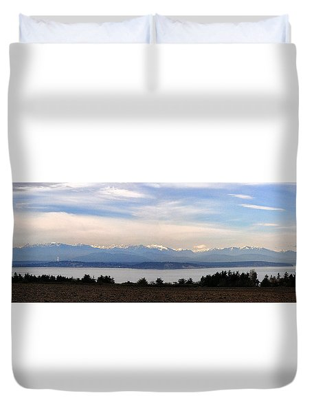 Washington Panorama Duvet Cover