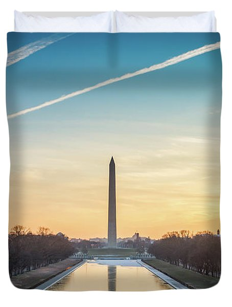 Washington Sunrise Duvet Cover