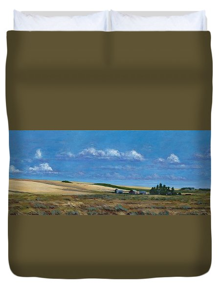 Washington Wheatland Classic Duvet Cover