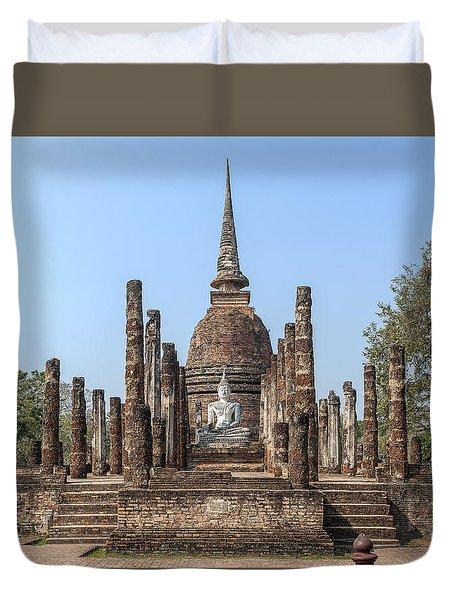 Wat Sa Si Wihan And Chedi Dthst0087 Duvet Cover