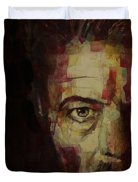Watch That Man Bowie Duvet Cover