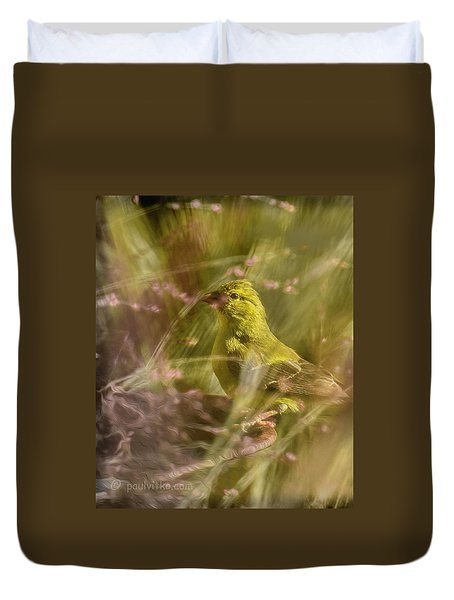 Watch What You Eat.... Duvet Cover