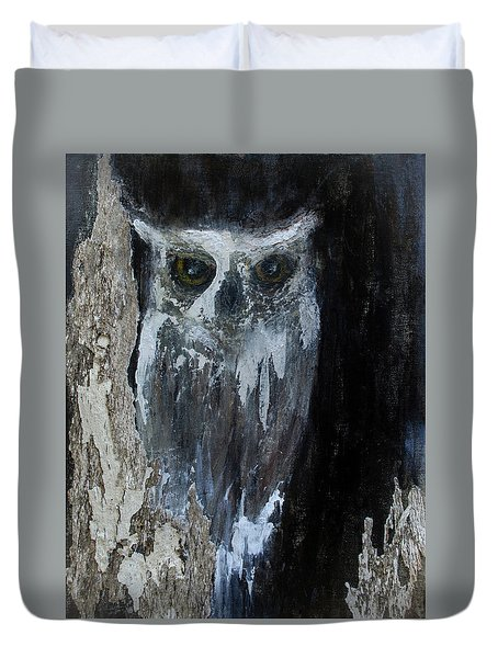 Watcher Of The Woods Duvet Cover