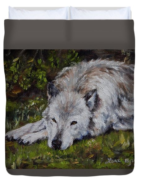 Watchful Rest Duvet Cover