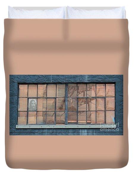 Watching And Waiting Duvet Cover by Joe Jake Pratt