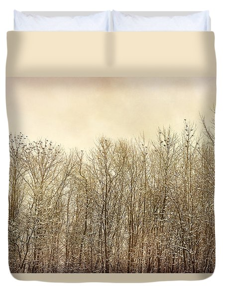 Watching Over Duvet Cover by Kathi Mirto