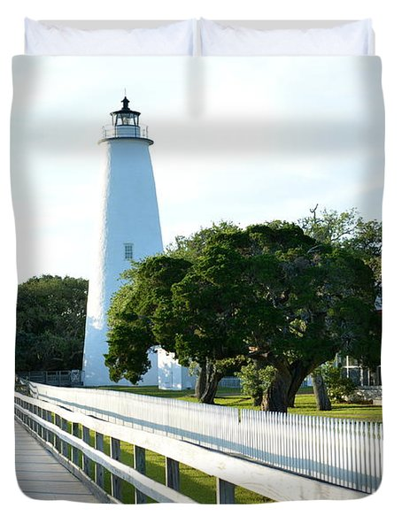 Watching Over Ocracoke Duvet Cover