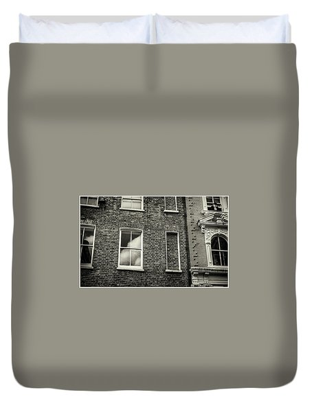 Duvet Cover featuring the photograph Watching by Stewart Marsden