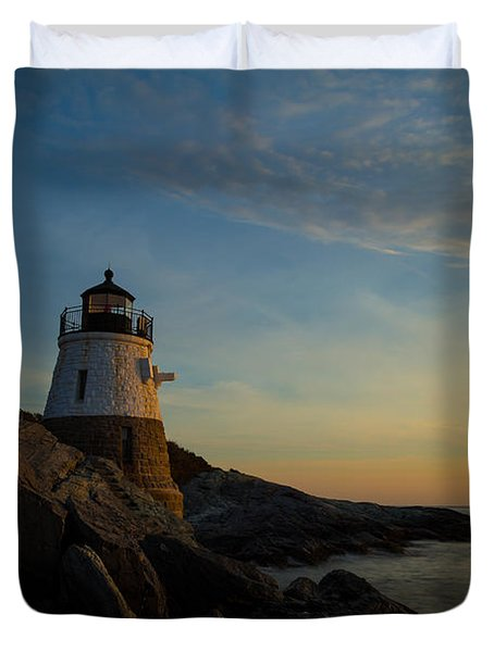 Watching The Sun Duvet Cover