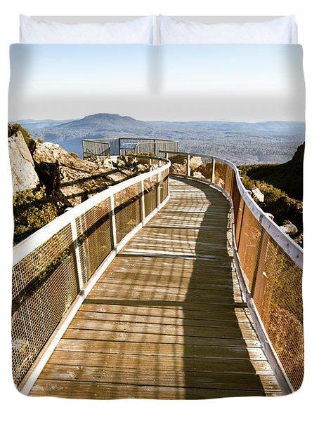 Watchtower Lookout, Ben Lomond, Tasmania Duvet Cover