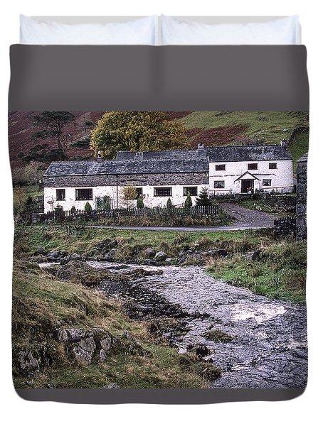 Cosy Cottages Duvet Cover