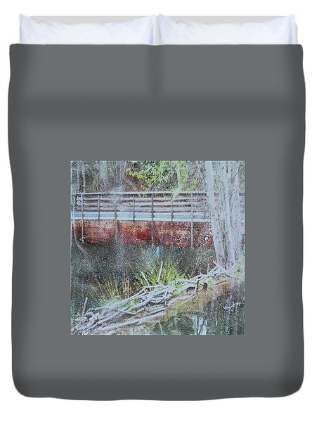 Water #5 Duvet Cover