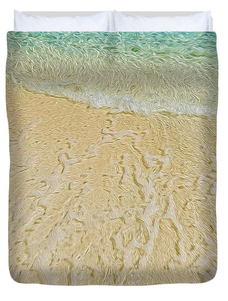 Water Abstract 1 Duvet Cover