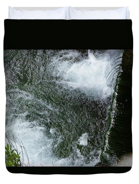 Water And Stone Duvet Cover