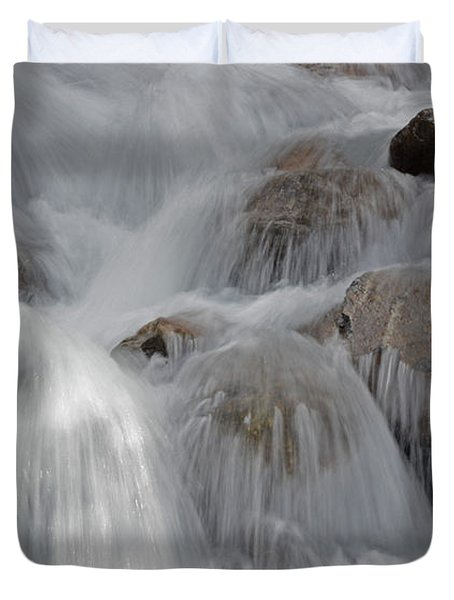 Water And Stone- Dance Of The Elements Duvet Cover