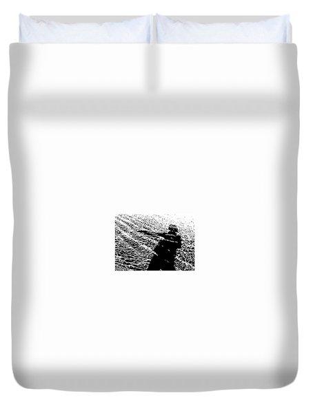Water Babe Duvet Cover