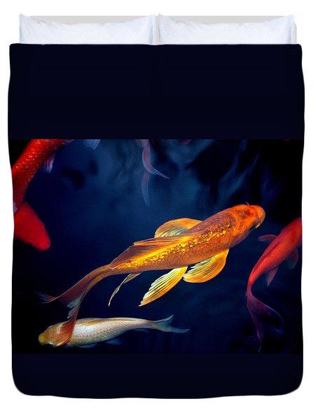 Water Ballet Duvet Cover