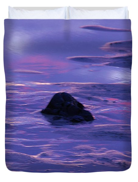 Water By Jenny Potter Duvet Cover