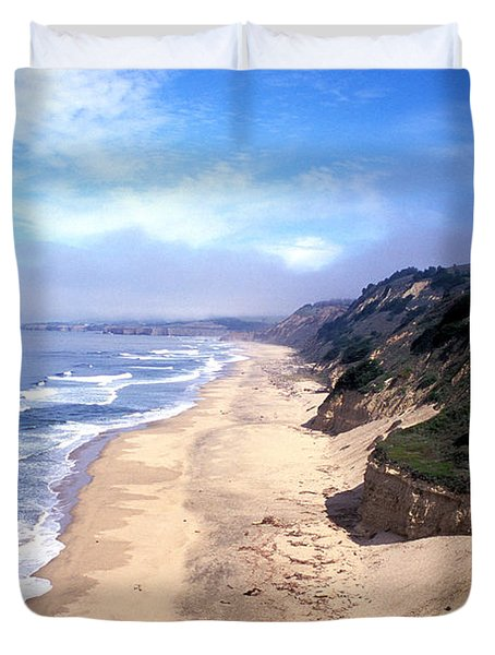 Water Color Sky Duvet Cover by Kathy Yates