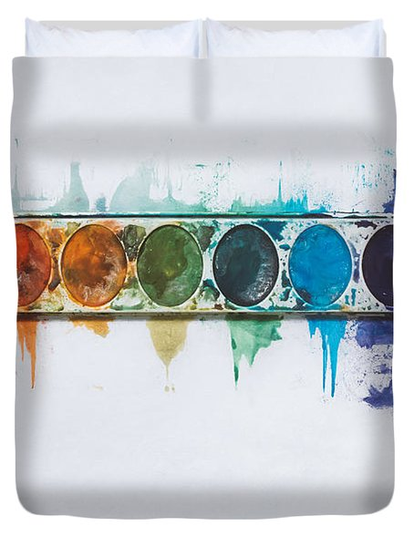 Water Colors Duvet Cover