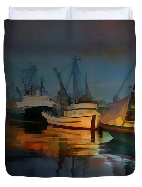 Water Colour Duvet Cover