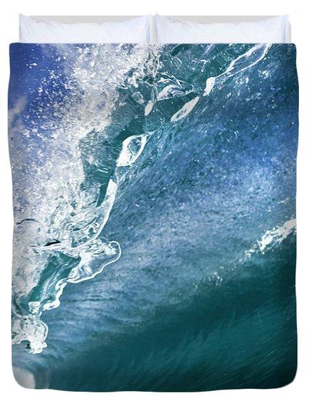 Water Confetti Duvet Cover