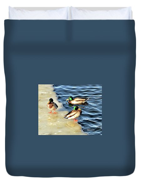 Water Cooler Duvet Cover